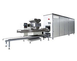 One-shot Chocolate Depositing Production Line