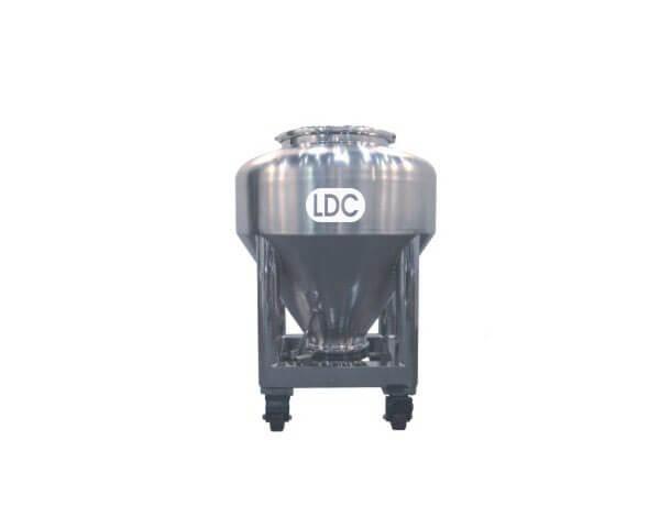 Round IBC bin