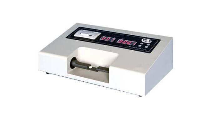 Tablet hardness testing machine